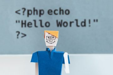 """""""Hello World"""", first thing that anyone who is learning programing writes!"""